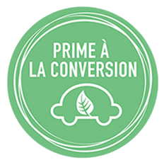 Eligible à la prime à la conversion